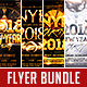 New Year Party Flyer Bundle Vol.1 - GraphicRiver Item for Sale