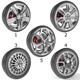 Wheels Collection 2 (5 Models) - 3DOcean Item for Sale