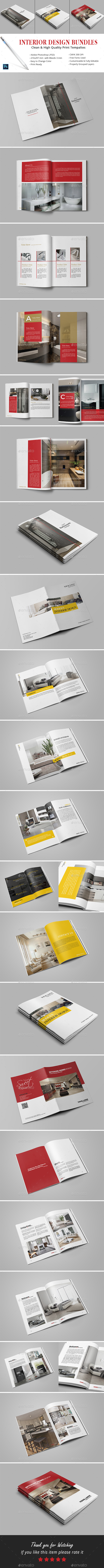 Interior Design Bundles - Catalogs Brochures