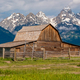 Old barn in Grand Teton Mountains - PhotoDune Item for Sale