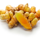 fresh whole turmeric on white background - PhotoDune Item for Sale