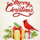 Red Cardinal Bird and Gifts - GraphicRiver Item for Sale