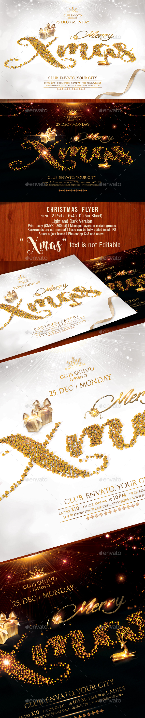 GraphicRiver Christmas Flyer 21121245
