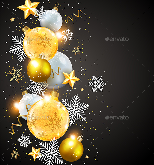 GraphicRiver Abstract Christmas Card 21121277