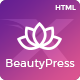 BeautyPress - Beauty Spa Salon Wellness Html Template