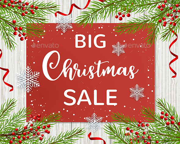 GraphicRiver Design for Seasonal Christmas Sale 21121362