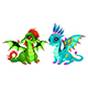 Baby Dragons - GraphicRiver Item for Sale