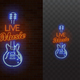 Live Music Neon Sign - GraphicRiver Item for Sale