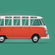 Vintage Classic Bus - GraphicRiver Item for Sale