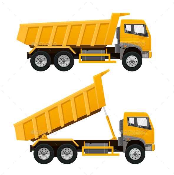 Dumper Truck - Industries Business