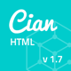 Cian - Landing Page Template + Coming Soon - ThemeForest Item for Sale