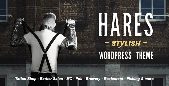 Hares - A Stylish WordPress Theme - Art Creative