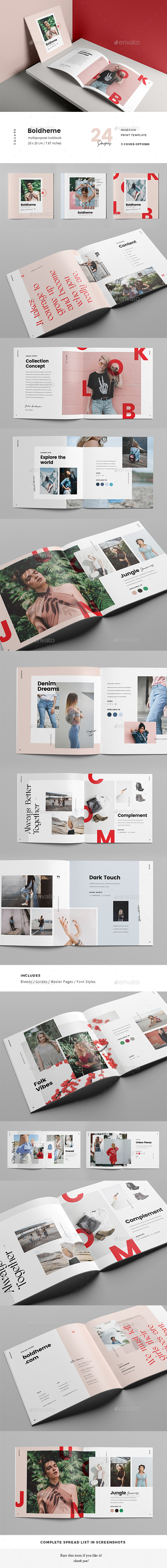 Boldheme / Modern Lookbook & Catalog - Catalogs Brochures