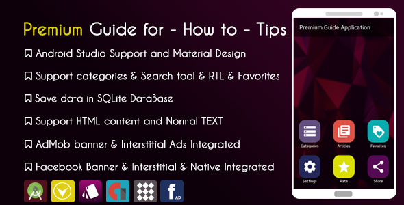 Download Source code              Premium Guide for - How to - Tips  + Facebook Audience Network with Native ad            nulled nulled version