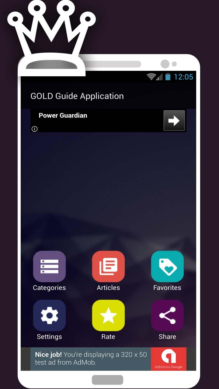 Gold Font App