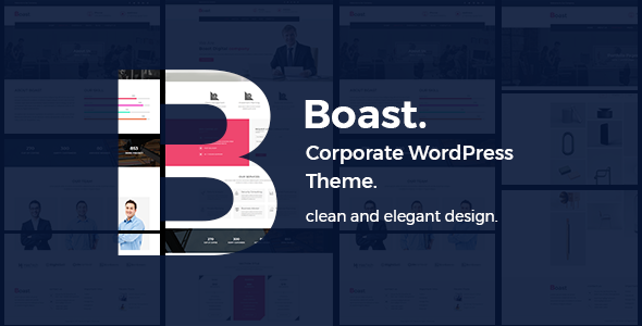 Image of Boast - Corporate WordPress Theme