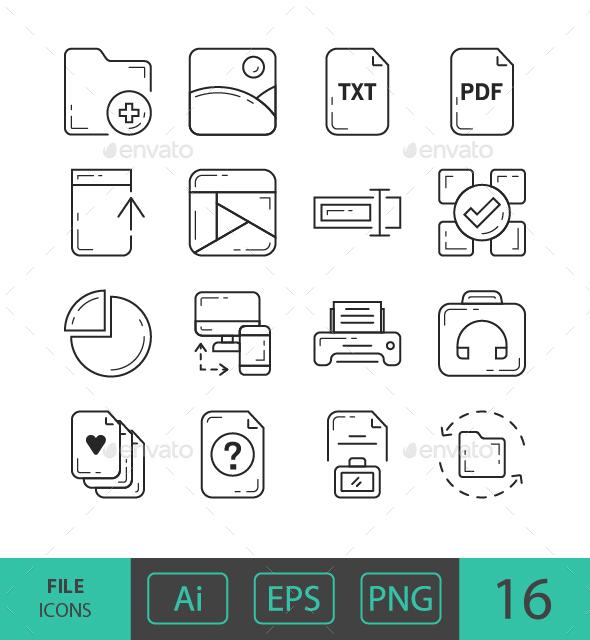 GraphicRiver File Icons 21122264