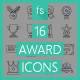 Award Icons - GraphicRiver Item for Sale