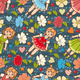 Kid Toy Seamless Pattern - GraphicRiver Item for Sale