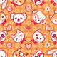 Little Animals Seamless Pattern