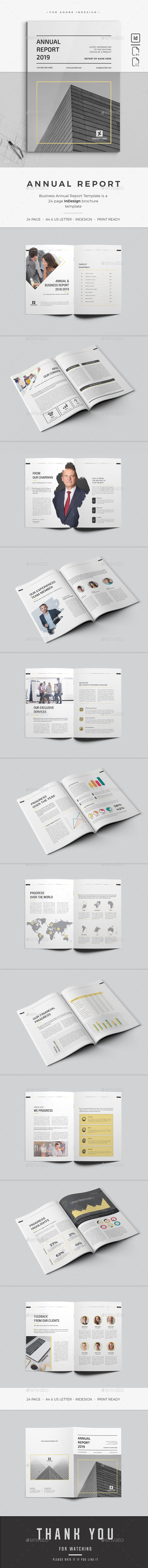 GraphicRiver Annual Report 21122469
