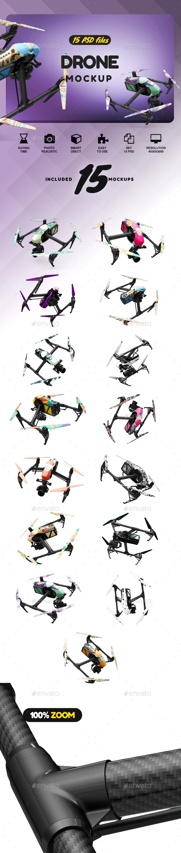 GraphicRiver Drone Mockup 21122521