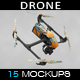 Drone Mockup - GraphicRiver Item for Sale