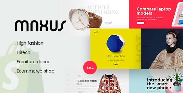 Image of Maxus - Multi Store Responsive Shopify Theme