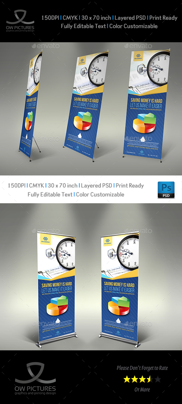 GraphicRiver Tax and Accounting Signage Template Vol.2 21122990