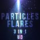 Blue Particles Flares - VideoHive Item for Sale