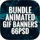 Bundle Animated GIF Multipurpose, Business, Corporate Banners Ad - 11 Sets - GraphicRiver Item for Sale