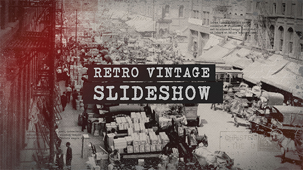 Retro Vintage Slideshow 20935728