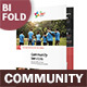 Community Service Bifold / Halffold Brochure 2 - GraphicRiver Item for Sale