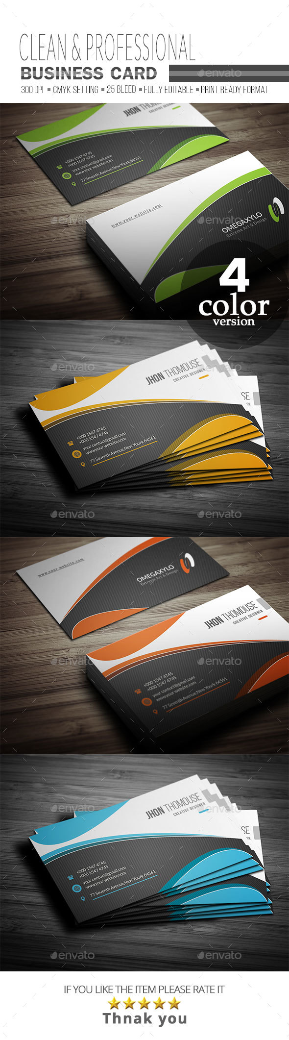 GraphicRiver Business Card 21123495