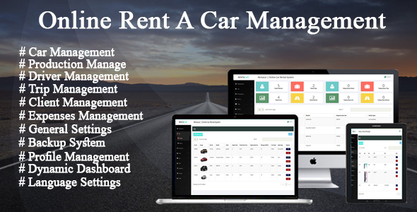 Online Car Rental / Trip Management System