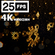 Snowflakes 4K - VideoHive Item for Sale