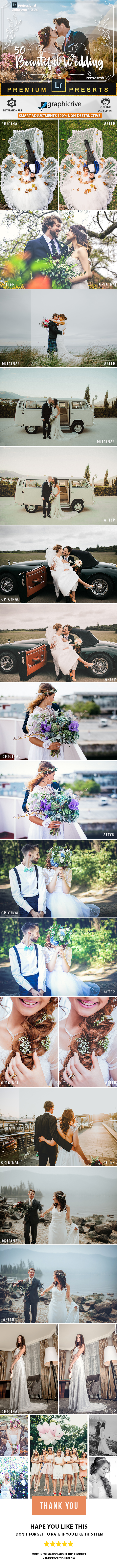 50 Pro Wedding Presets - Wedding Lightroom Presets