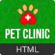 Pet Clinic - Veterinary Responsive HTML Template