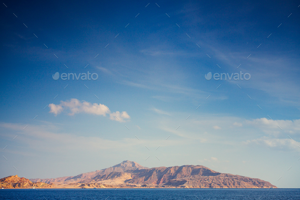 Turquoise seascape - Stock Photo - Images
