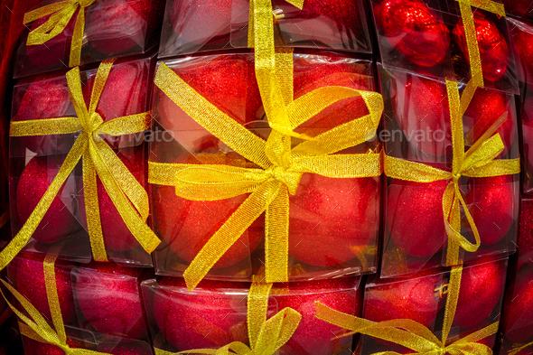 Christmas balls. - Stock Photo - Images
