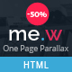 Mew - One Page Parallax - ThemeForest Item for Sale