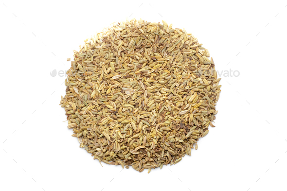 Pile of cumin seeds - Stock Photo - Images