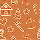 Gingerbread Cookies Christmas Patterns - GraphicRiver Item for Sale