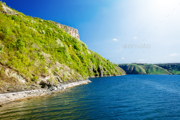 river and sunshine in Bakota - Stock Photo - Images