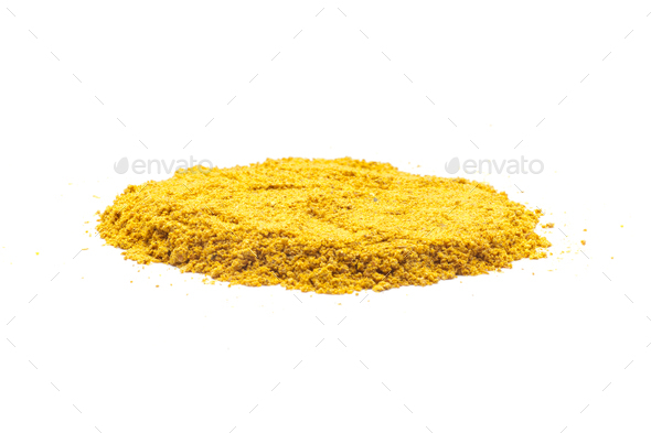Pile of Turmeric - Stock Photo - Images
