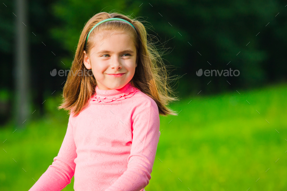 Little girl - Stock Photo - Images