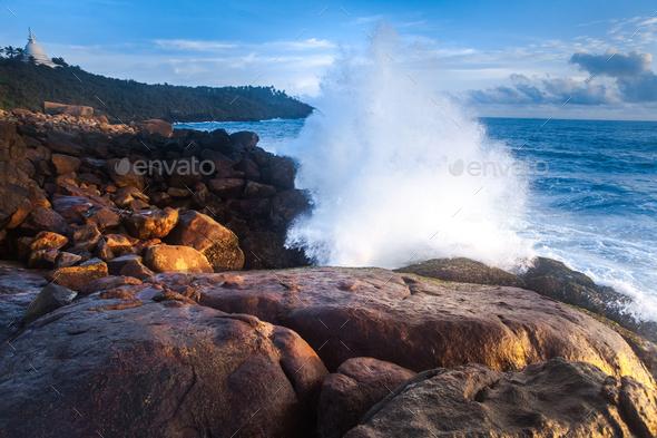 Beautiful seascape - Stock Photo - Images