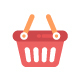100 Shopping and Commerce Flat Icon
