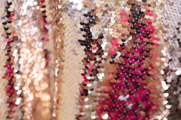 Sequins background - Stock Photo - Images