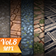 Stone Tile Vol.8 - Hand Painted Texture Pack - 3DOcean Item for Sale